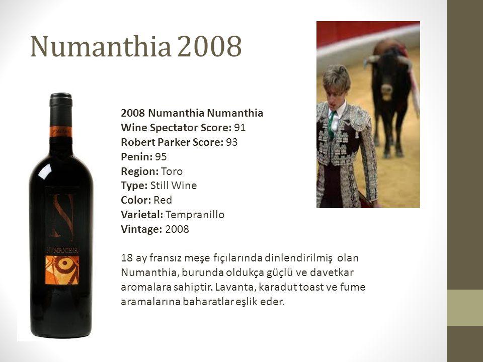 Numanthia 2008 2008 Numanthia Numanthia
