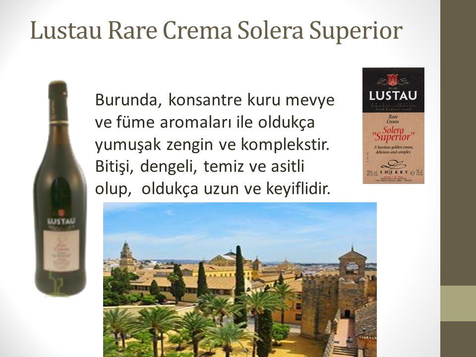 Lustau Rare Crema Solera Superior