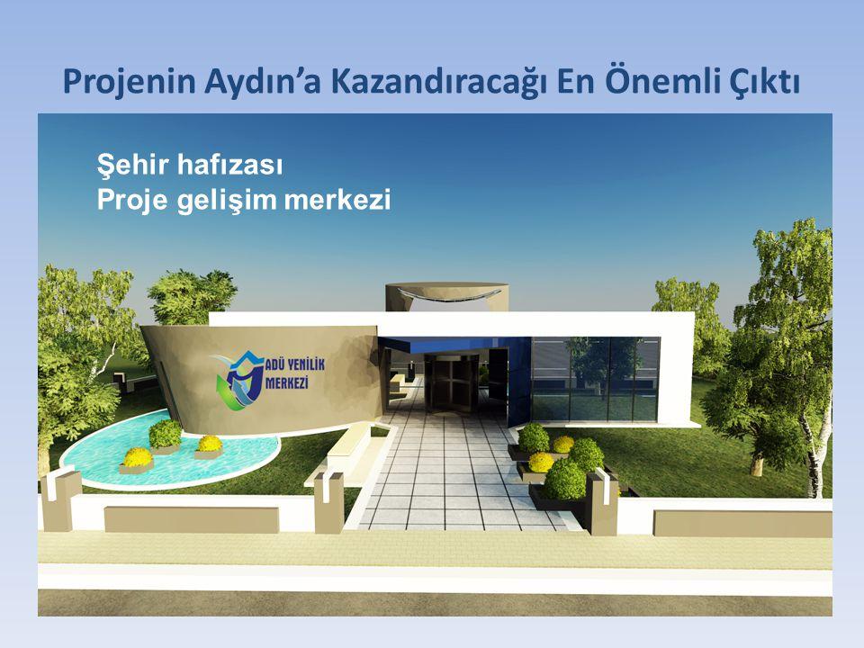 Projenin Aydın'a Kazandıracağı En Önemli Çıktı