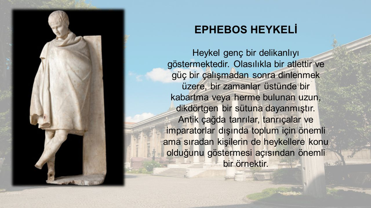 EPHEBOS HEYKELİ
