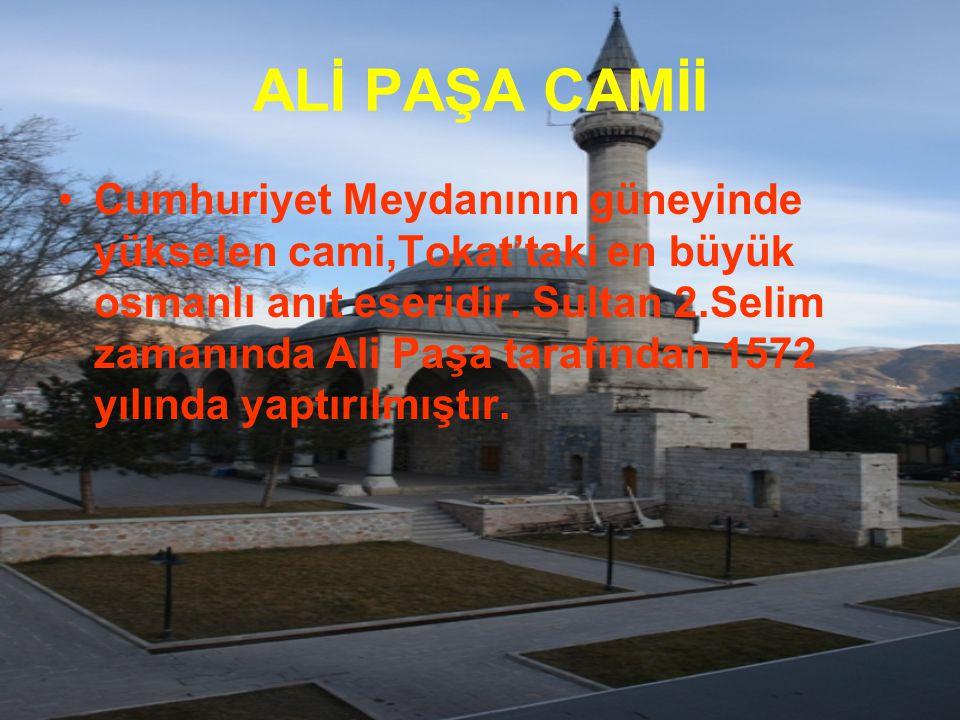 ALİ PAŞA CAMİİ