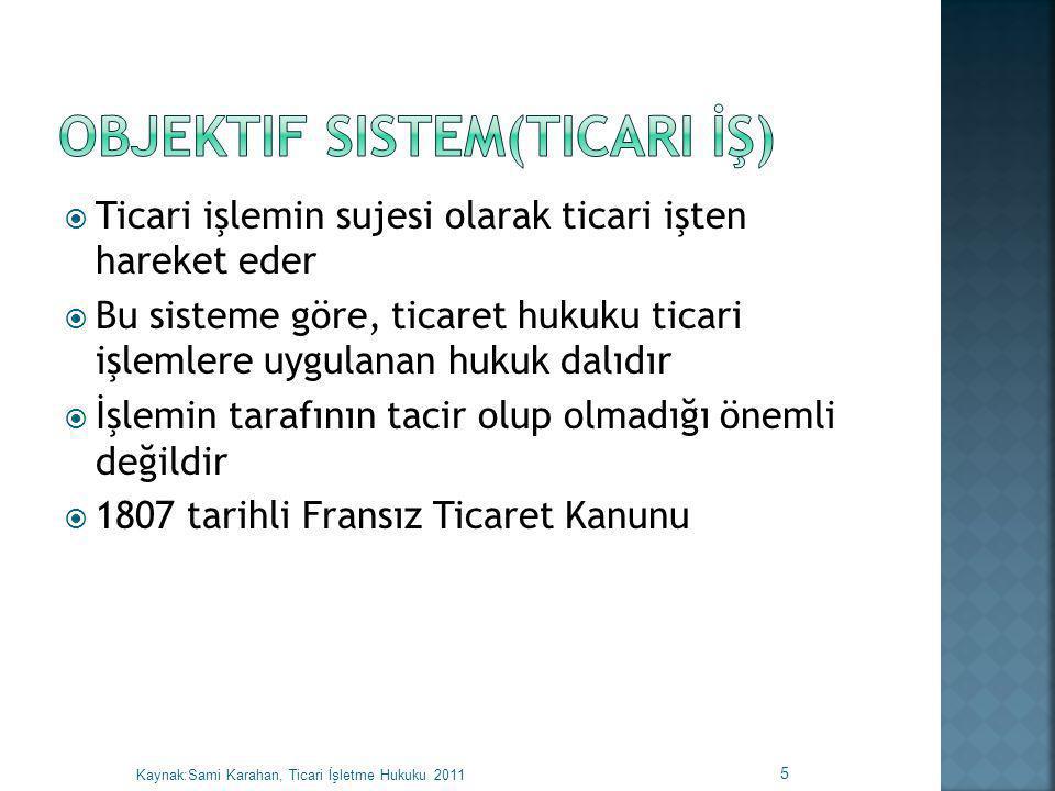 Objektif Sistem(Ticari İş)
