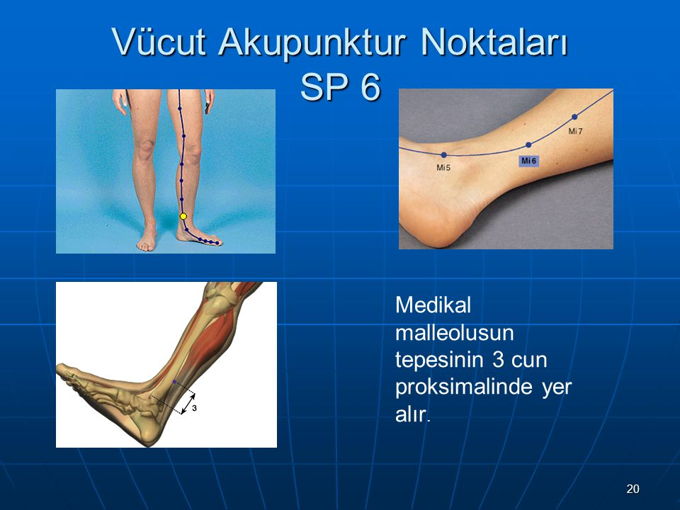 Vücut Akupunktur Noktaları SP 6