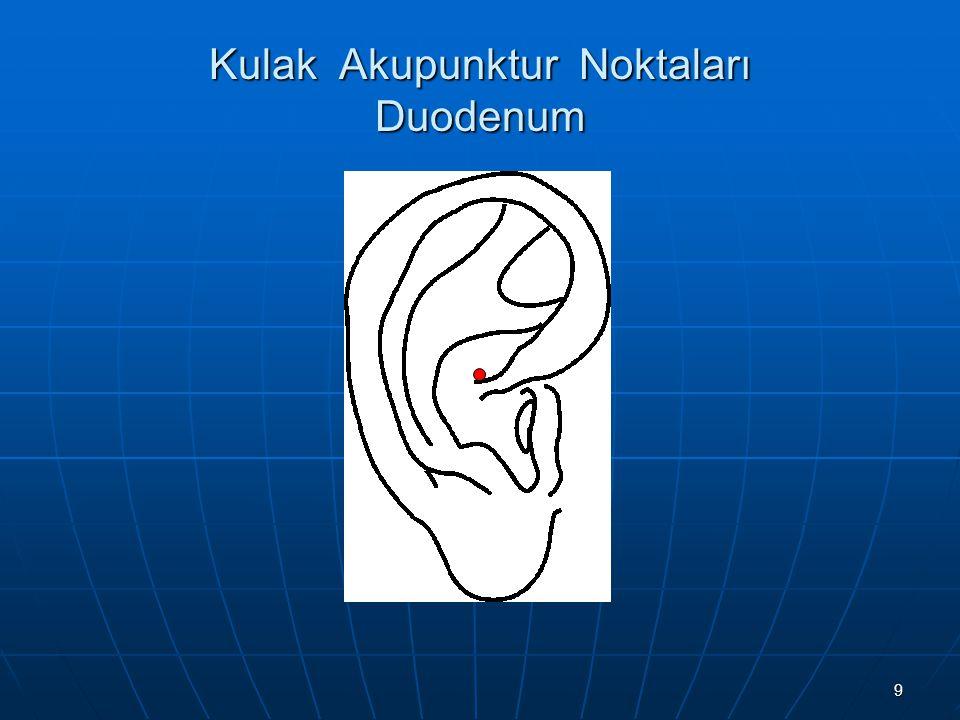 Kulak Akupunktur Noktaları Duodenum