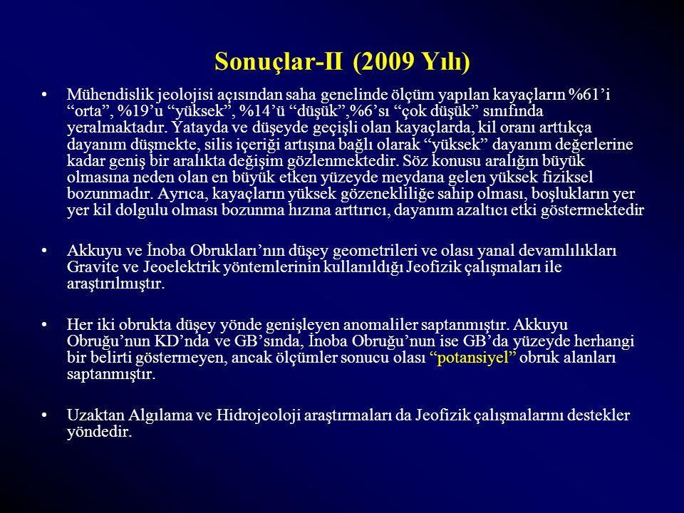 Sonuçlar-II (2009 Yılı)