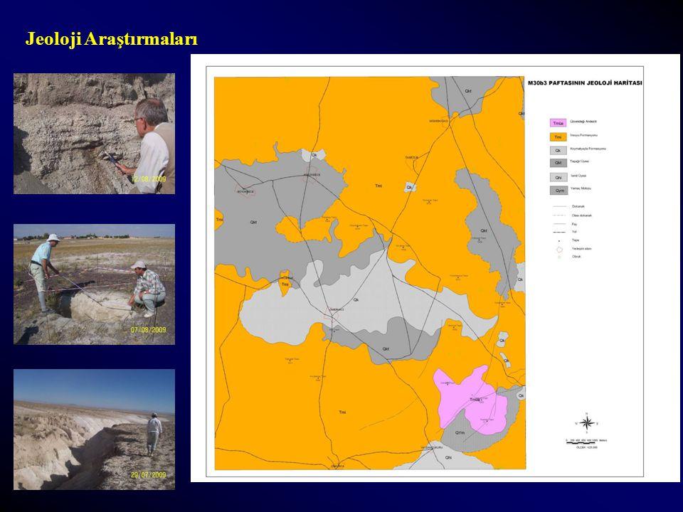 Jeoloji Araştırmaları