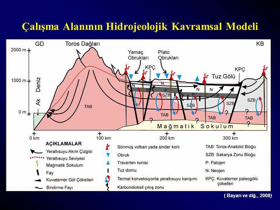 Çalışma Alanının Hidrojeolojik Kavramsal Modeli