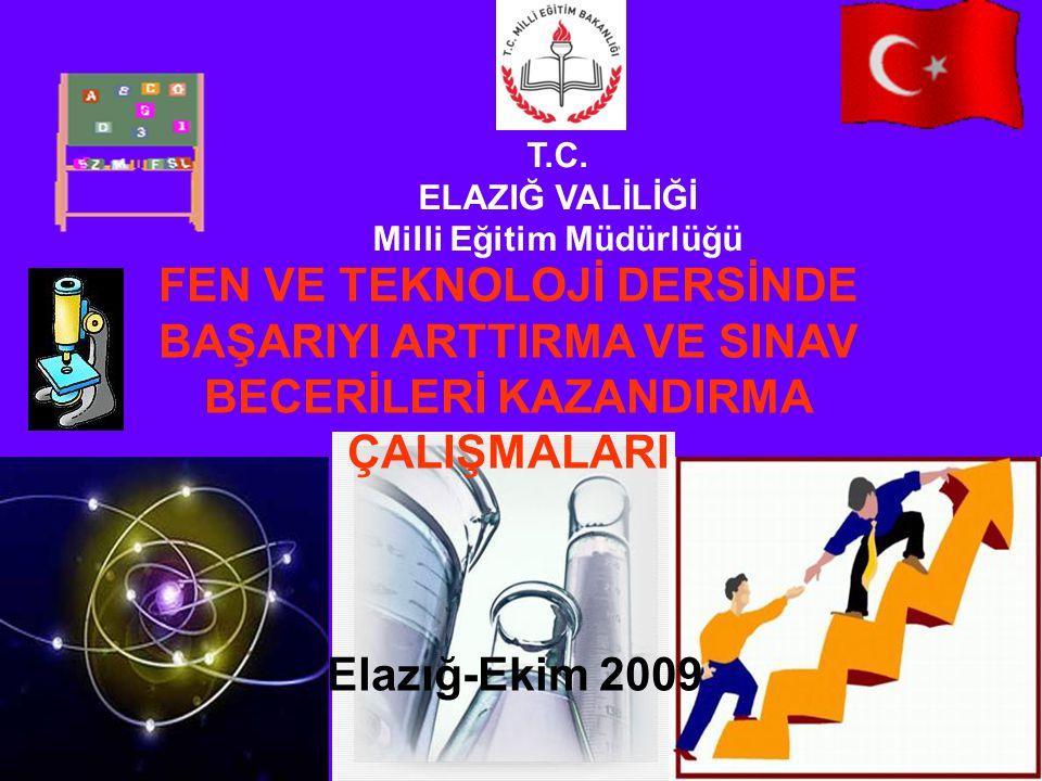 T.C. ELAZIĞ VALİLİĞİ Milli Eğitim Müdürlüğü