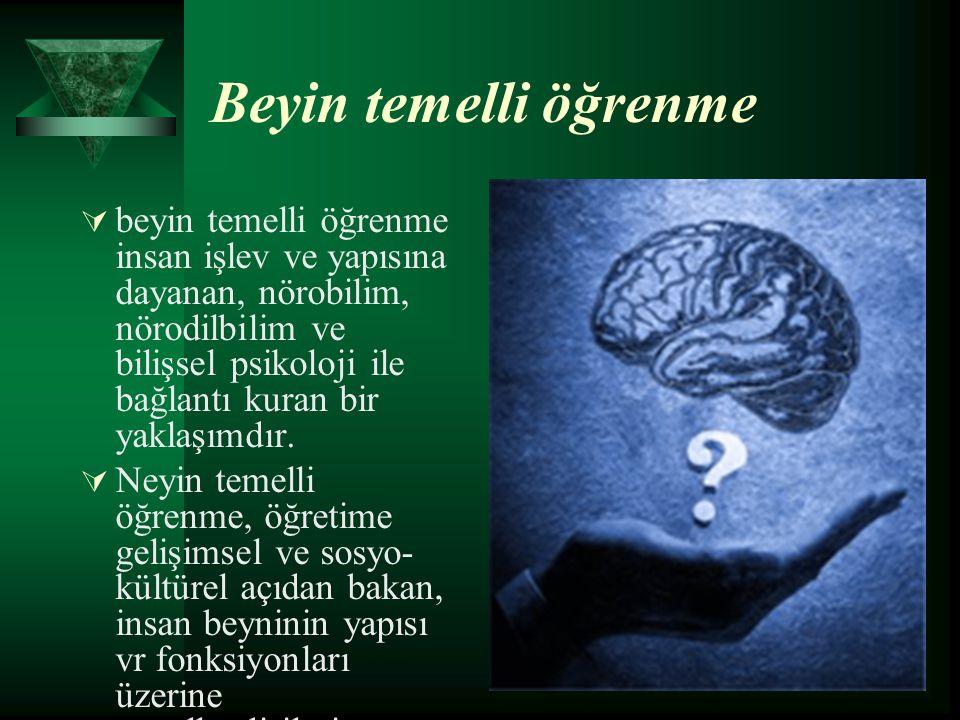 Beyin temelli öğrenme