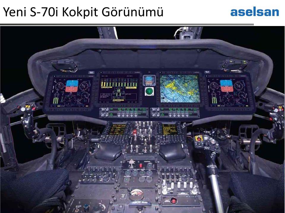Yeni S-70i Kokpit Görünümü