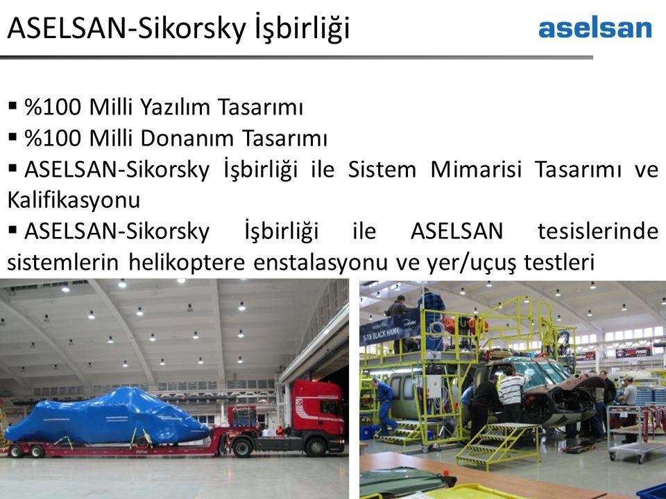 ASELSAN-Sikorsky İşbirliği