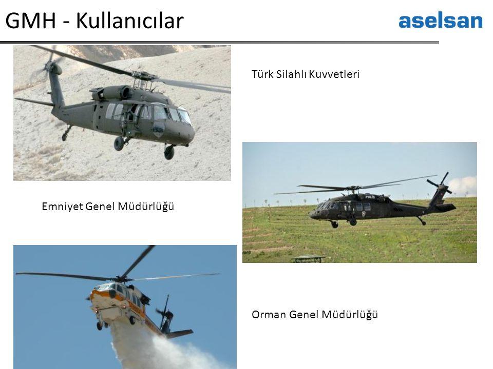 GMH - Kullanıcılar Türk Silahlı Kuvvetleri Emniyet Genel Müdürlüğü