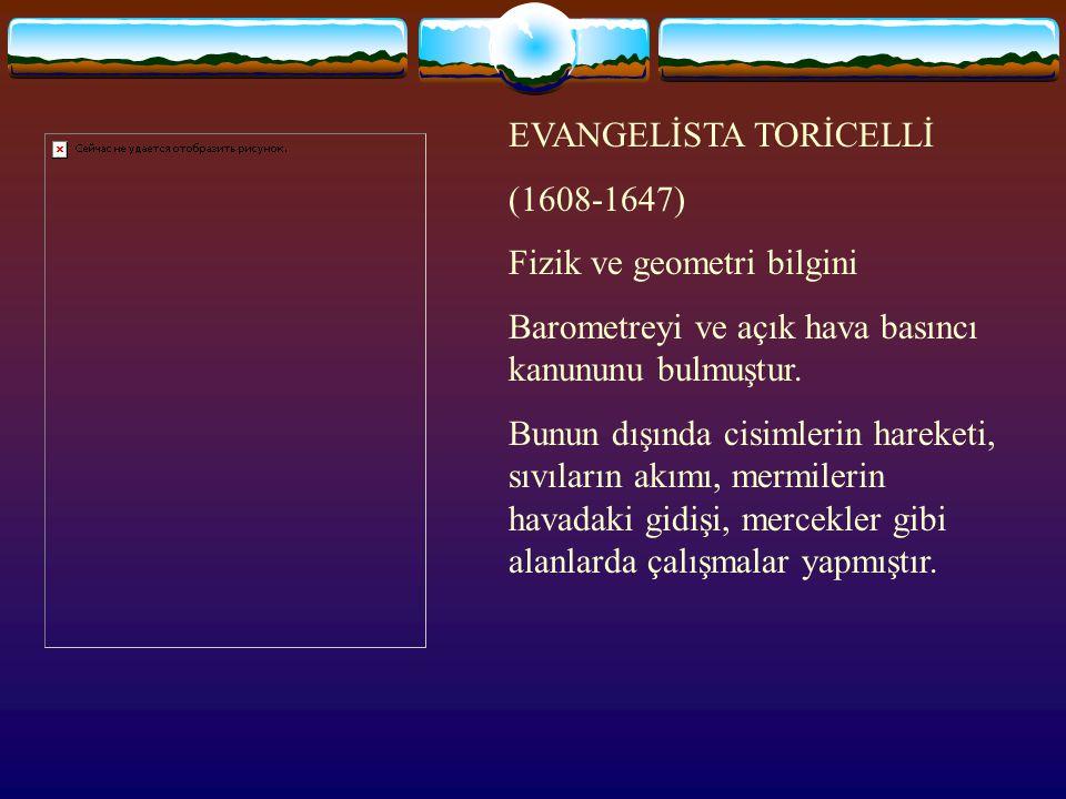 EVANGELİSTA TORİCELLİ