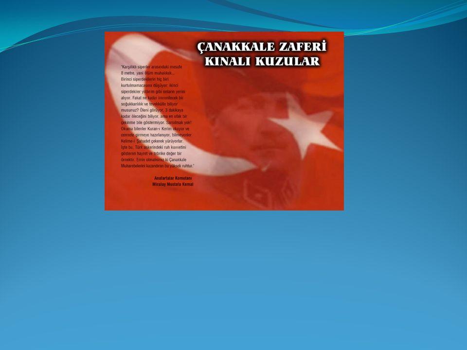 ÇANAKKALE ZAFERİ 18 MART 1915