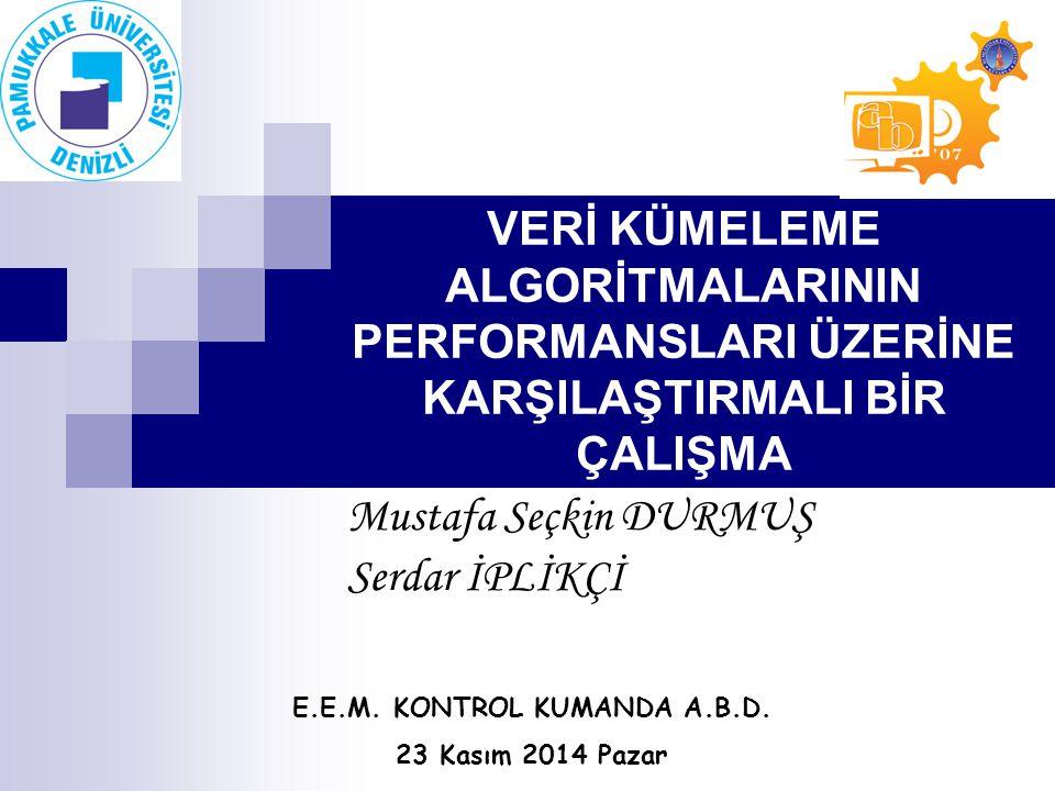 Mustafa Seçkin DURMUŞ Serdar İPLİKÇİ