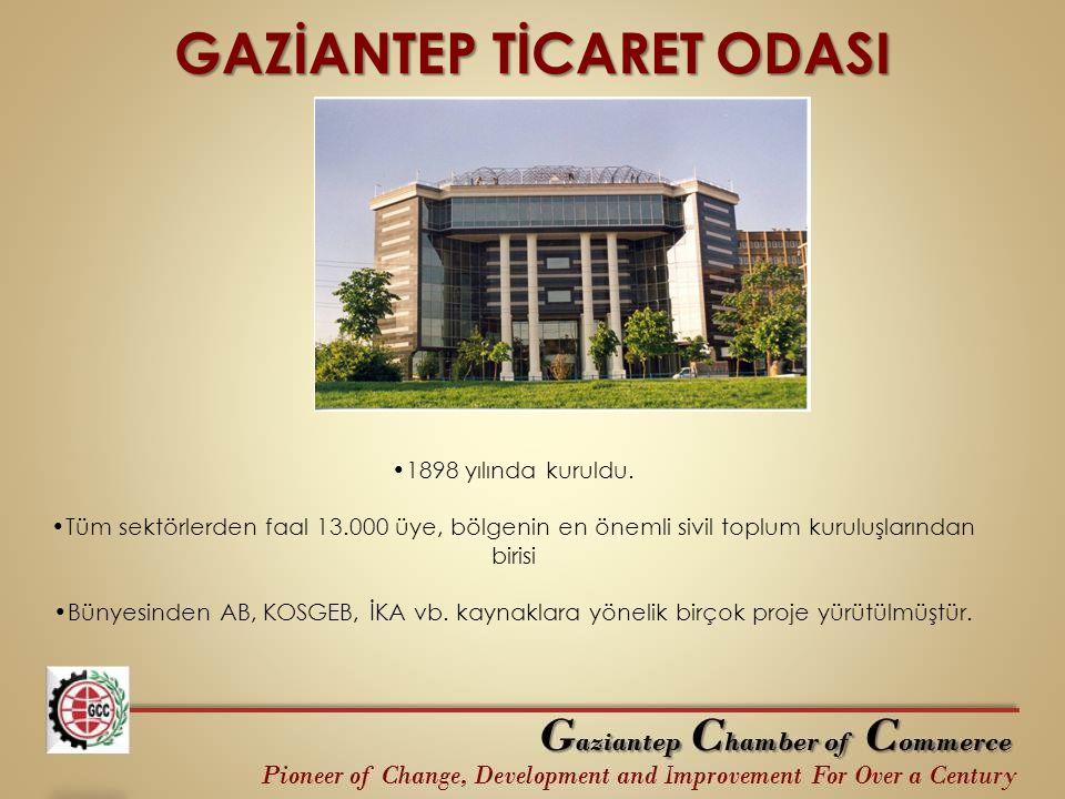 GAZİANTEP TİCARET ODASI