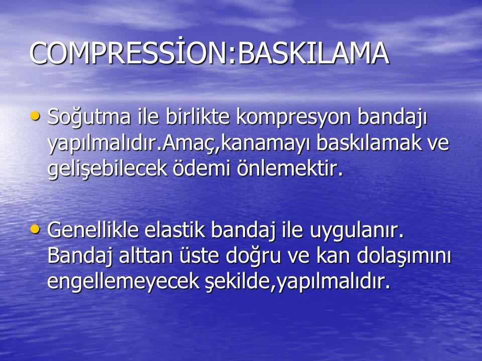 COMPRESSİON:BASKILAMA