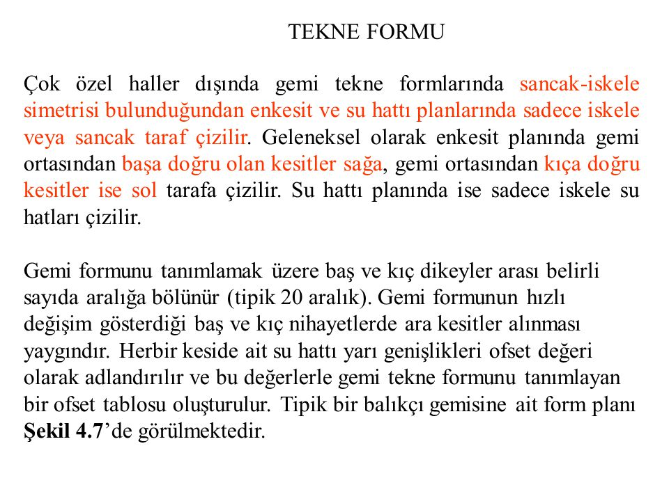TEKNE FORMU