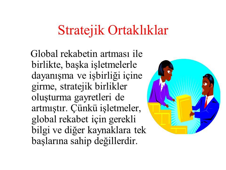 Stratejik Ortaklıklar