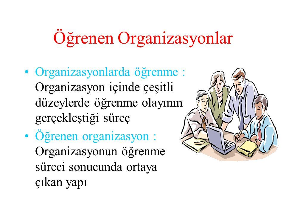 Öğrenen Organizasyonlar