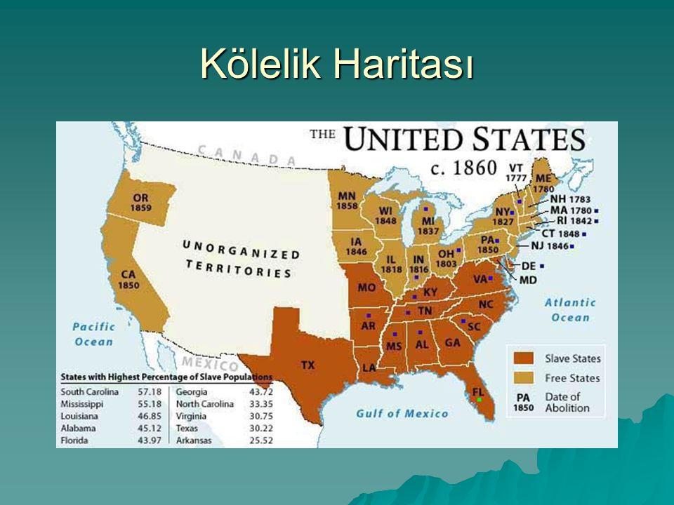Kölelik Haritası