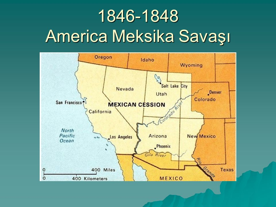 1846-1848 America Meksika Savaşı