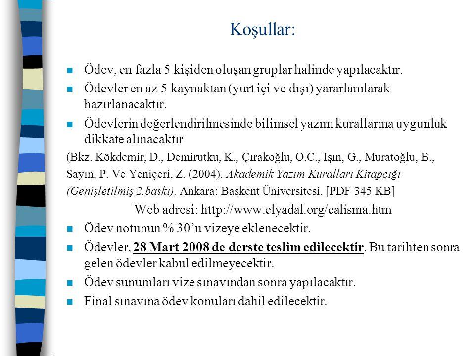 Web adresi: http://www.elyadal.org/calisma.htm