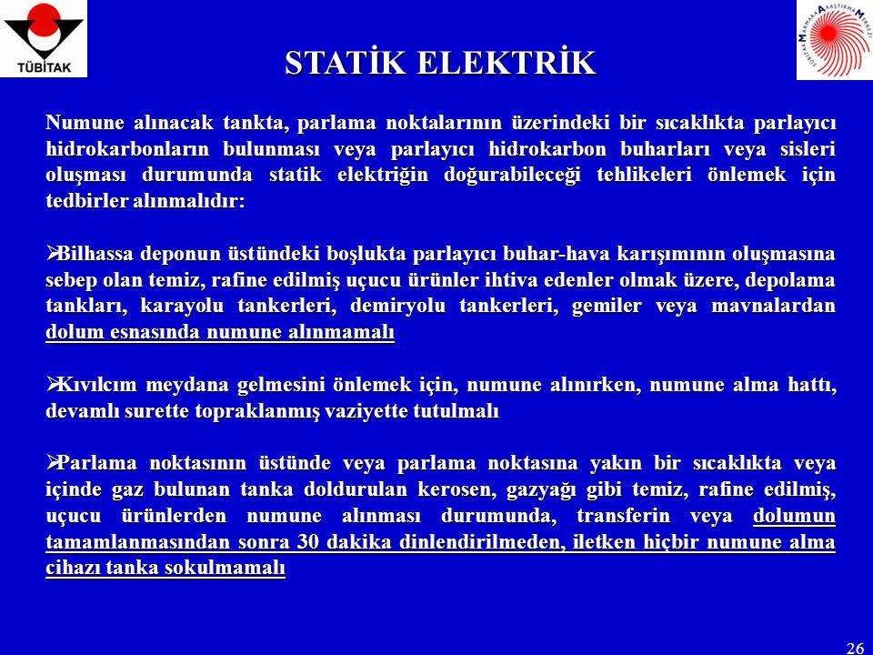 STATİK ELEKTRİK