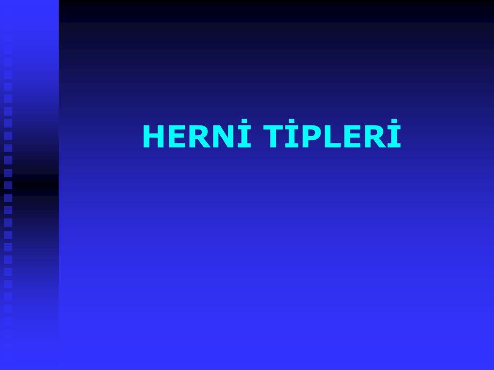 HERNİ TİPLERİ