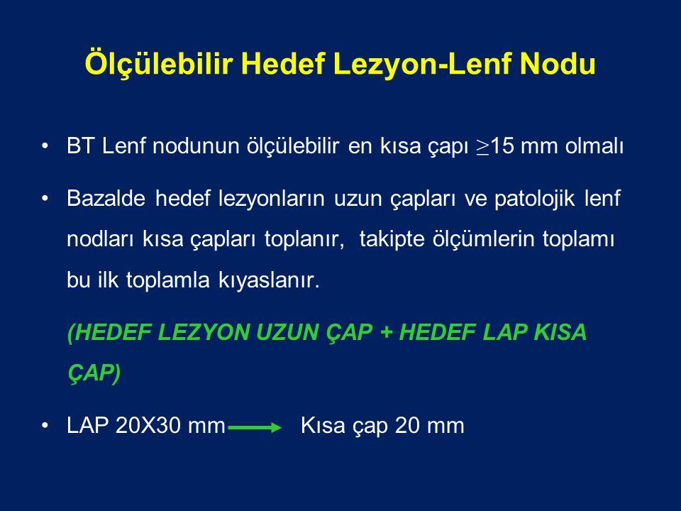 Ölçülebilir Hedef Lezyon-Lenf Nodu