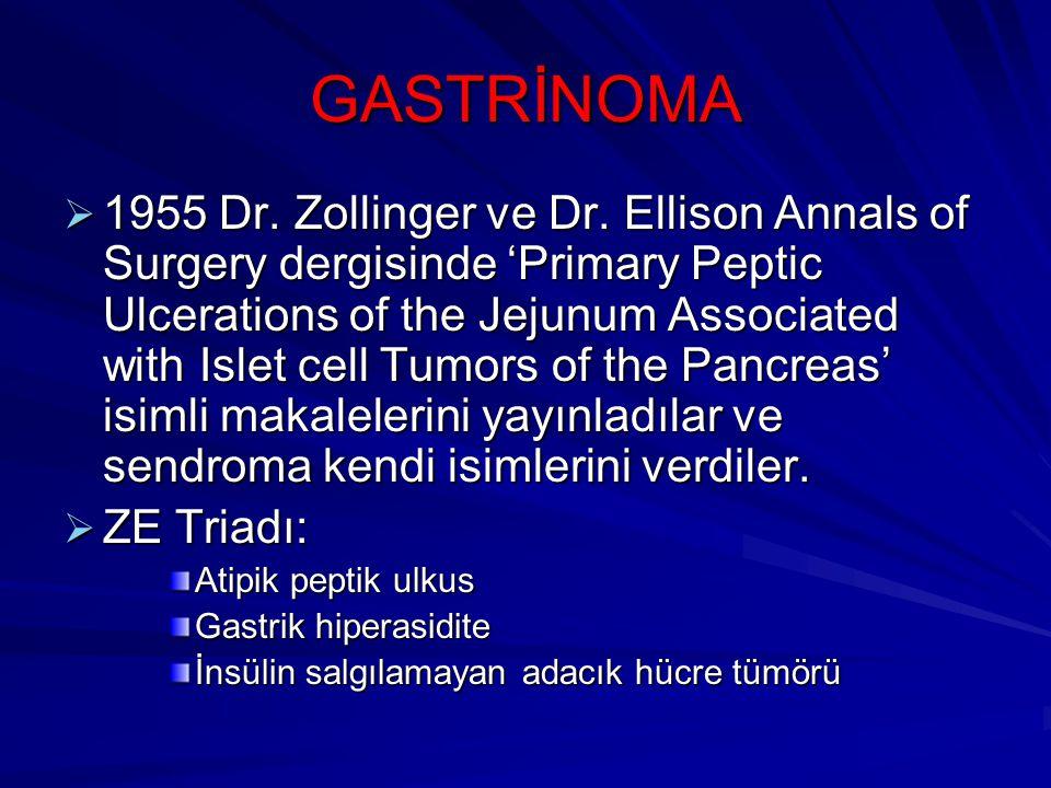 GASTRİNOMA