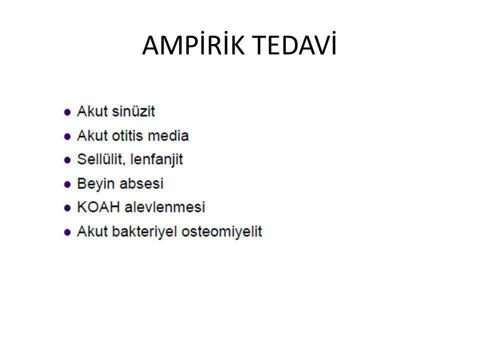 AMPİRİK TEDAVİ