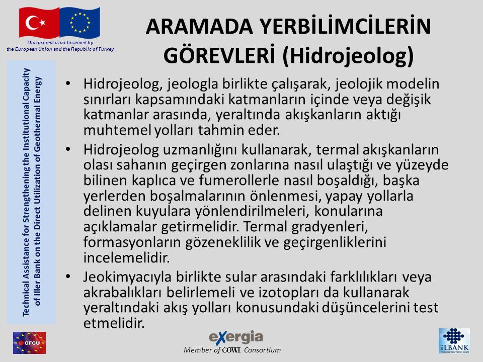 ARAMADA YERBİLİMCİLERİN GÖREVLERİ (Hidrojeolog)