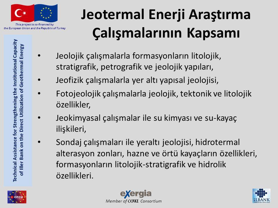 Jeotermal Enerji Araştırma Çalışmalarının Kapsamı