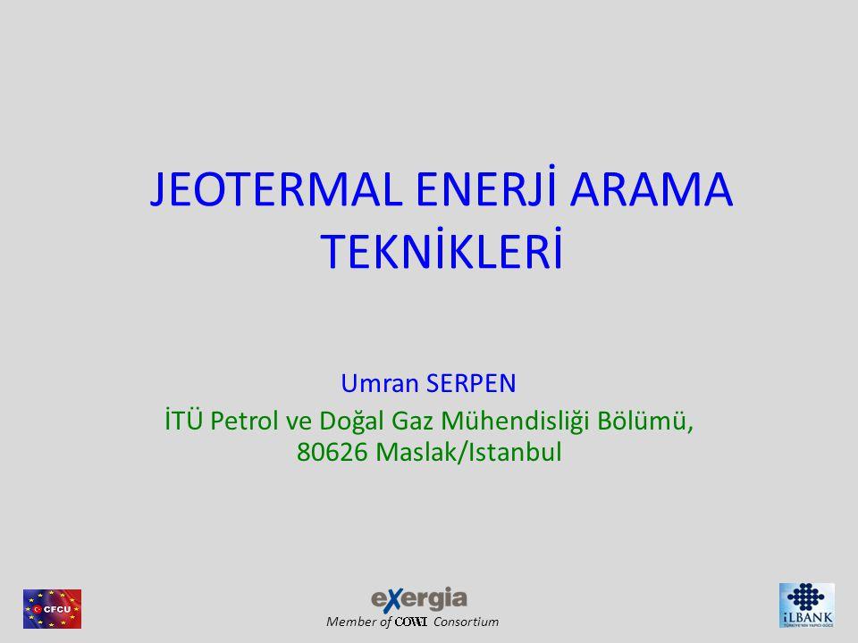 JEOTERMAL ENERJİ ARAMA TEKNİKLERİ