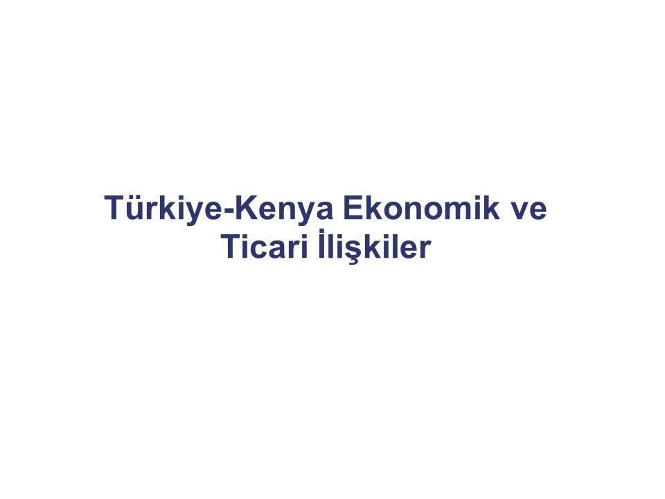 Türkiye-Kenya Ekonomik ve