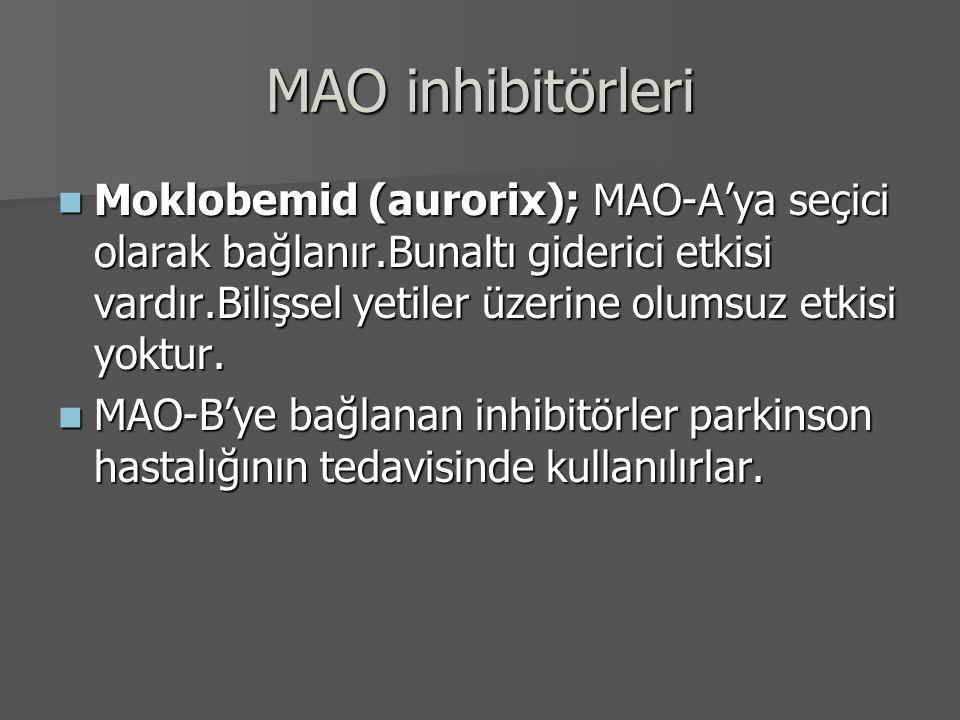 MAO inhibitörleri