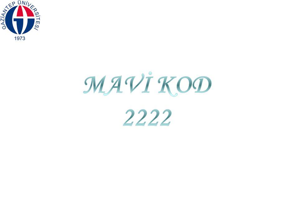 MAVİ KOD 2222