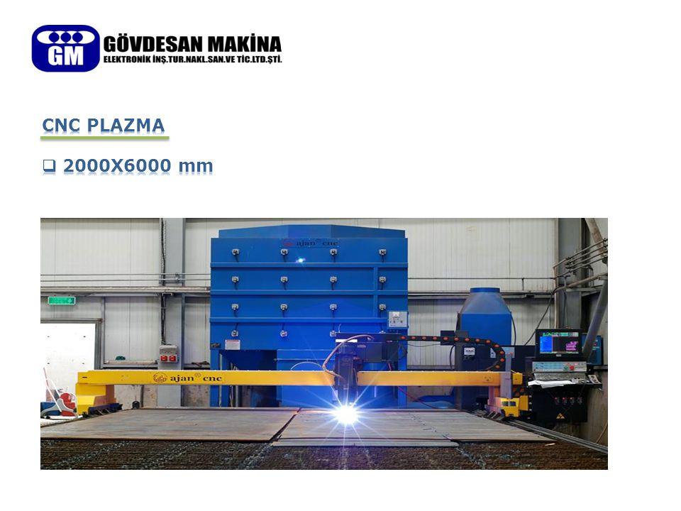 CNC PLAZMA 2000X6000 mm
