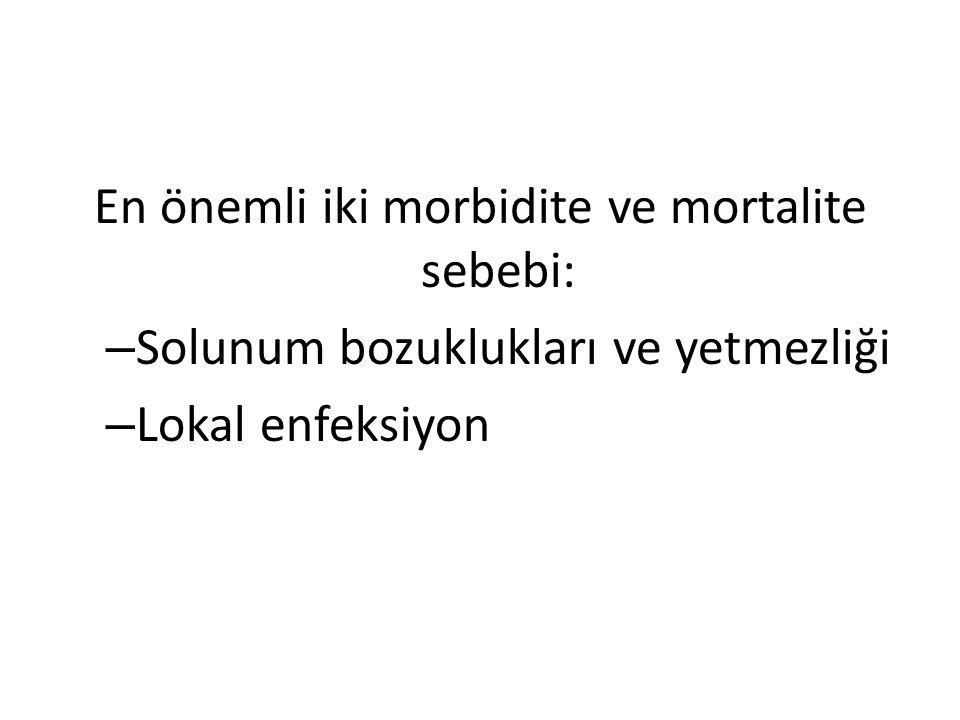 En önemli iki morbidite ve mortalite sebebi: