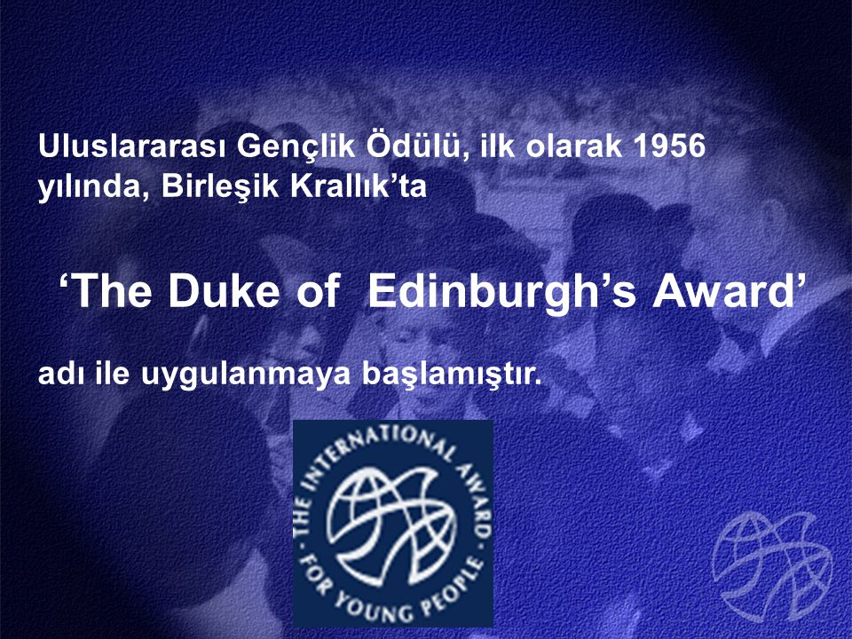 'The Duke of Edinburgh's Award'