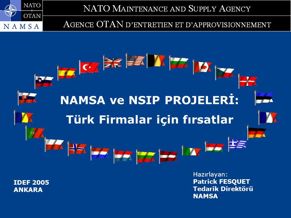 NAMSA ve NSIP PROJELERİ: Türk Firmalar için fırsatlar