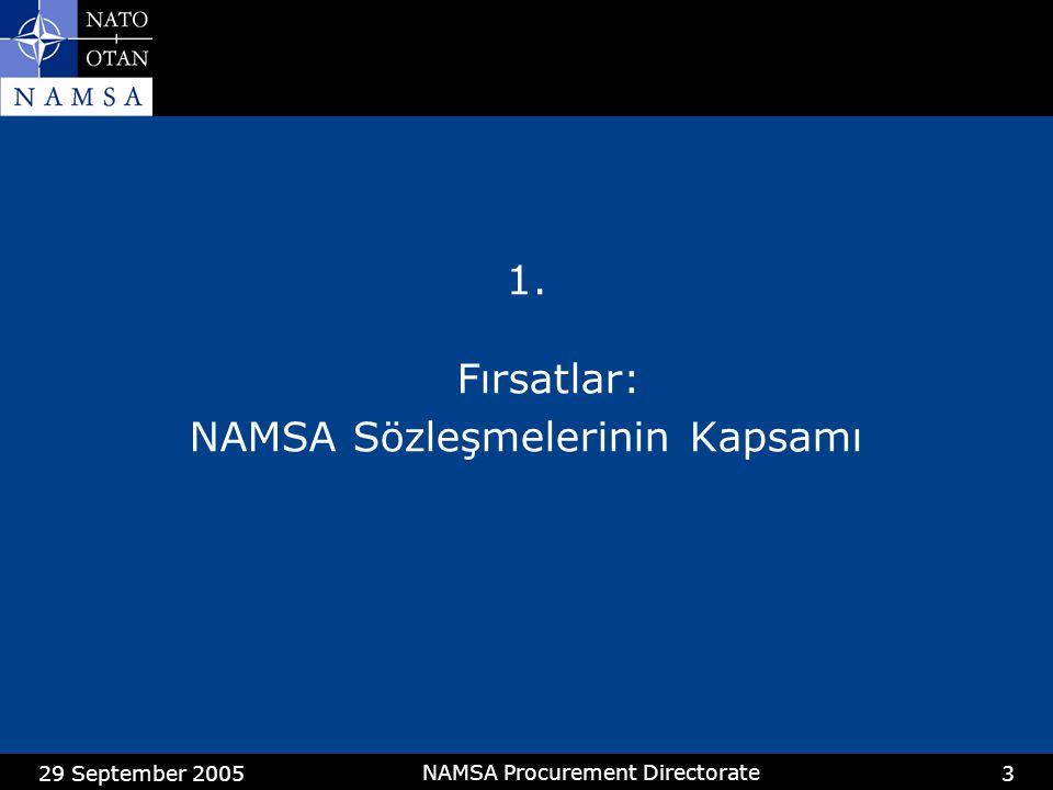 NAMSA Sözleşmelerinin Kapsamı