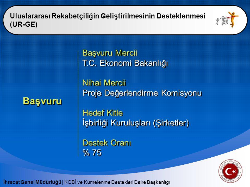 Başvuru Başvuru Mercii T.C. Ekonomi Bakanlığı Nihai Mercii