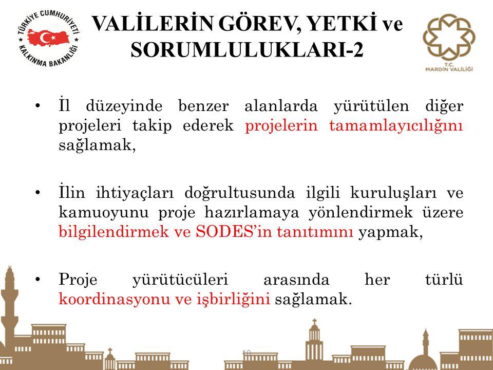 VALİLERİN GÖREV, YETKİ ve SORUMLULUKLARI-2