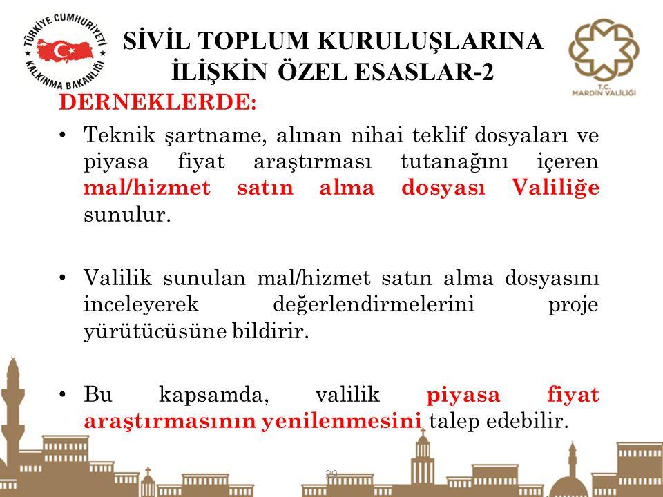 SİVİL TOPLUM KURULUŞLARINA İLİŞKİN ÖZEL ESASLAR-2