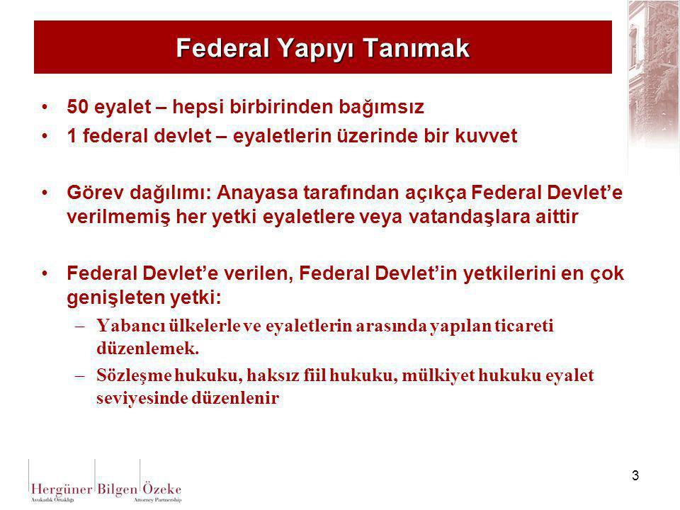 Federal Yapıyı Tanımak