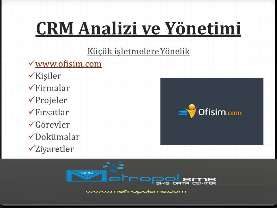 CRM Analizi ve Yönetimi