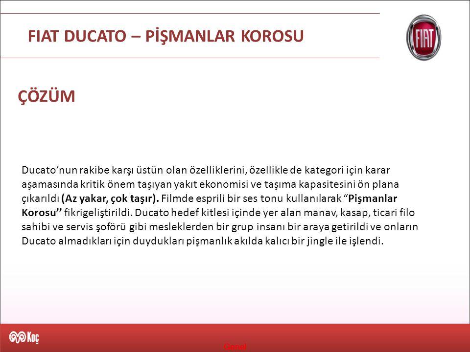 FIAT DUCATO – PİŞMANLAR KOROSU