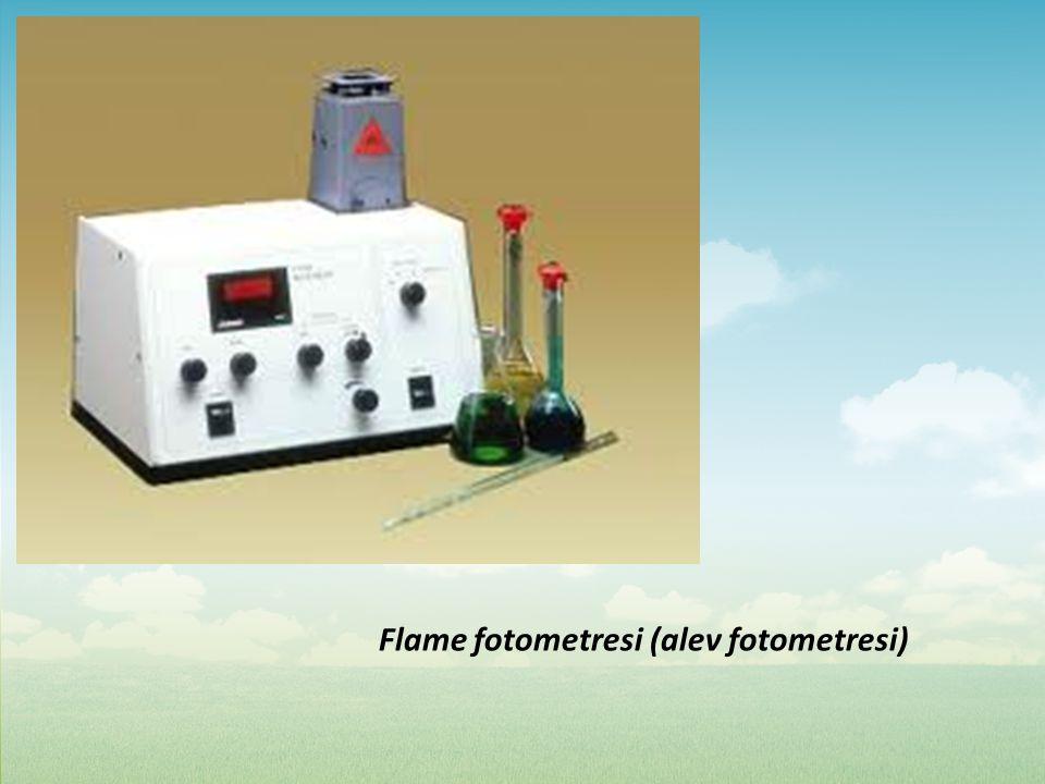 Flame fotometresi (alev fotometresi)